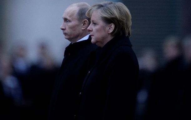 Меркель вместе с Путиным отметит окончание Второй мировой