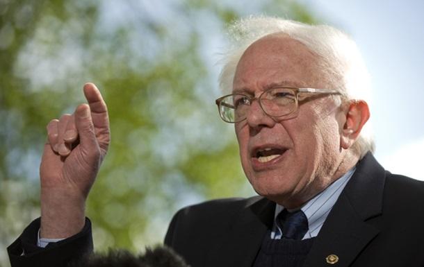 Сенатор Сандерс вступил в гонку за пост президента США