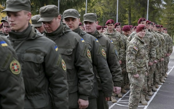 Появилось видео, как проходят американско-украинские учения
