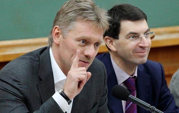 Песков: Россия не может согласиться на ввод миротворцев в Донбасс