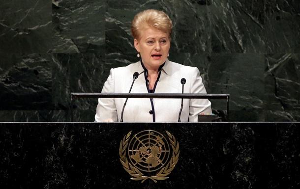 Литва возглавила Совбез ООН