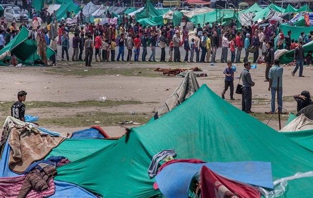 В Непале более 2,8 млн человек покинули свои дома после землетрясения