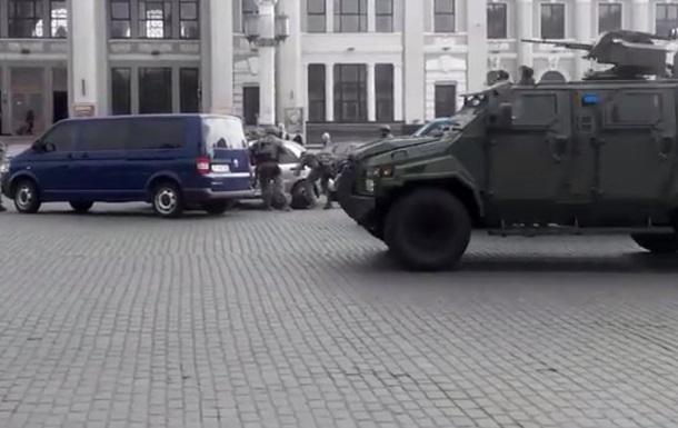 Появилось видео задержания сепаратистов в Одессе