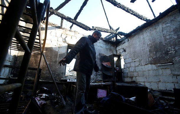 В результате обстрела Марьинки погиб местный житель