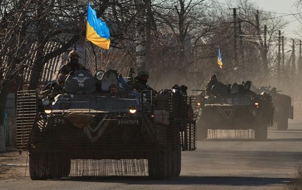 Украина не планирует отвод войск из Широкино