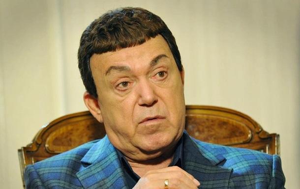 На Донбассе собираются снести мемориальную доску Кобзону