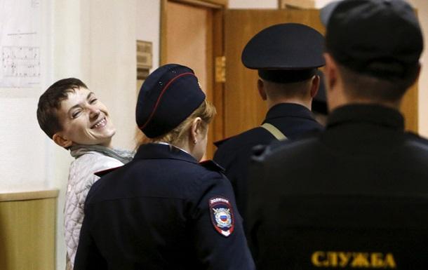 Савченко получила замечание за мат в суде