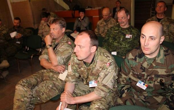 В зону АТО приехали военные из Европы