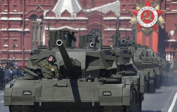 Новейший российский танк заглох на генеральной репетиции парада в Москве