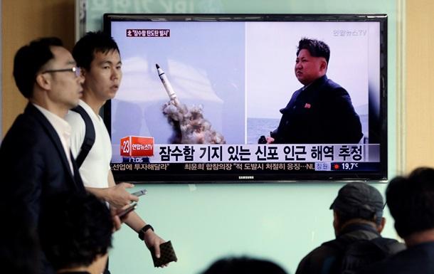 КНДР запустила три ракеты класса  корабль-корабль