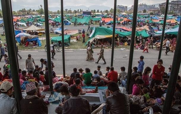 Поиск пропавших после землетрясения в Непале приостановлен