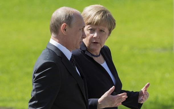 Германия и Россия продолжат восстанавливать целостность Украины - Меркель