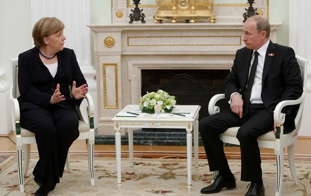 Как Ангела Меркель отметила в Москве юбилей окончания войны