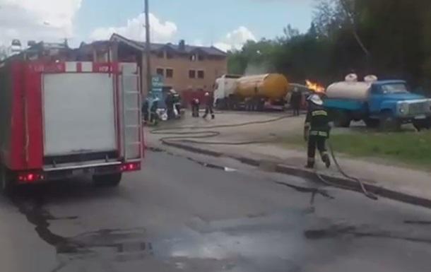 В Виннице взорвалась газовая автозаправка