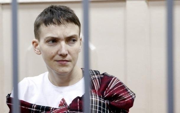 В России заявили, что Савченко снова прекратила голодовку