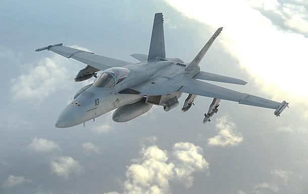 Американский истребитель разбился в Персидском заливе