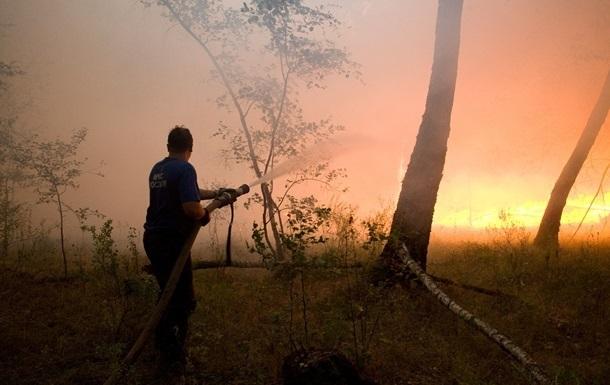 Лесные пожары в Забайкалье снова набирают силу