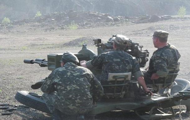 На Донетчине военные испытали новое огневое сооружение