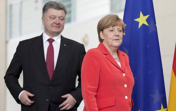 Меркель: Отношения Украины и Германии превосходные