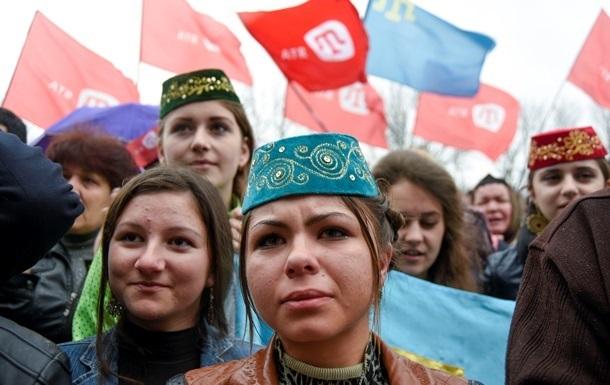 Рада призвала мир осудить нарушения прав крымских татар