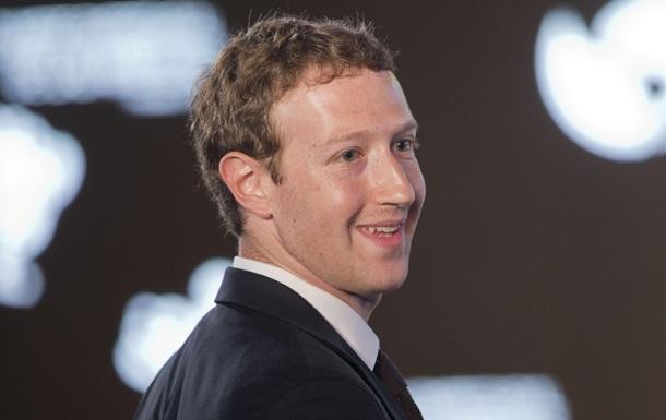 Цукерберг: Россия никогда не блокировала украинцев на Facebook