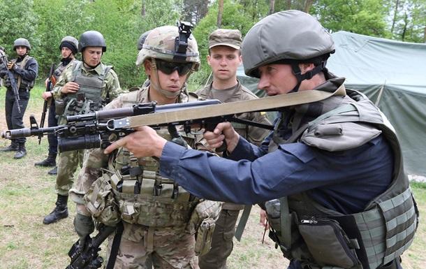 Как американцы готовят украинских бойцов - репортаж с полигона