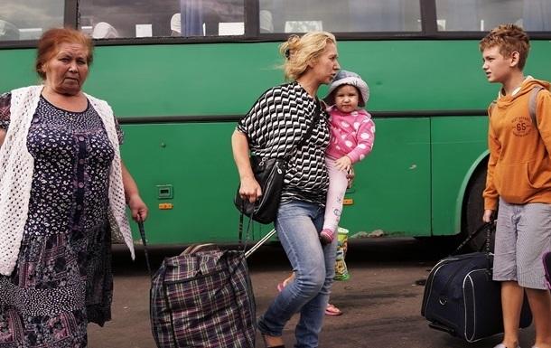 ГосЧС зарегистрировала почти 900 тысяч переселенцев