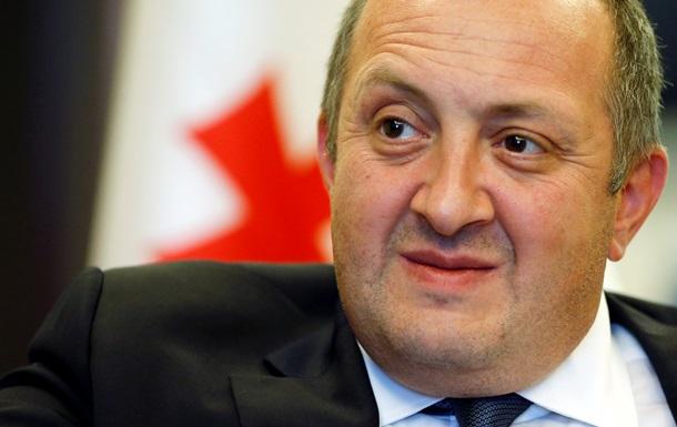 Президент Грузии поддержал ужесточение санкций против России