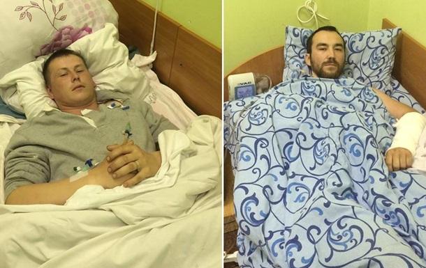 Пленному российскому солдату украинские врачи спасли ногу