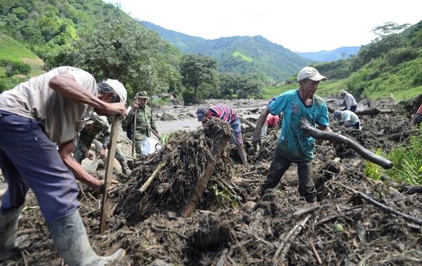 Более 60 человек погибли в результате оползня в Колумбии