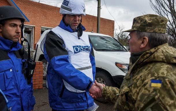 ОБСЕ: Украина отвела тяжелое вооружение из Донбасса