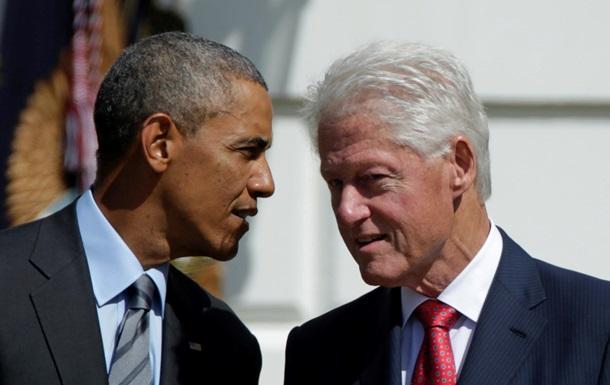 Клинтон и Обама подшутили друг над другом в Twitter