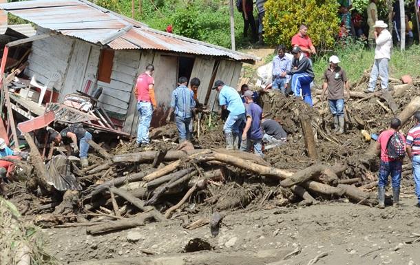 Колумбия: число жертв оползня достигло 78