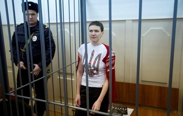 Российские тюремщики заявили, что Савченко получает трехразовое питание