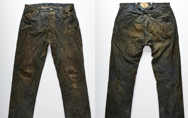 Levi's показала самые старые в мире джинсы 1873 года