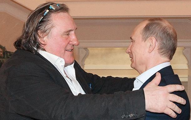 Жерар Депардье признался в любви Путину и украинцам