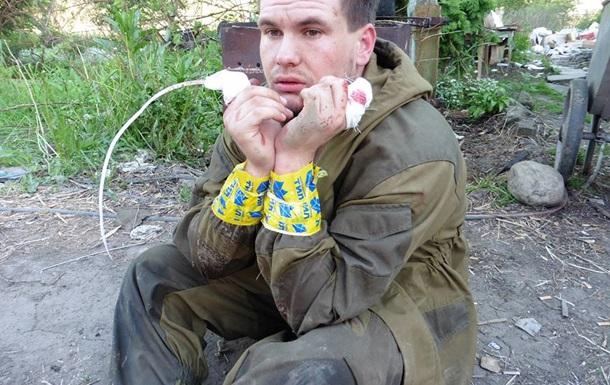 В результате боя на блокпосту под Донецком задержан один сепаратист