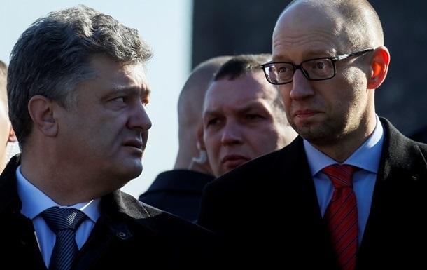 Год у власти. Действиями Порошенко недовольны больше половины украинцев