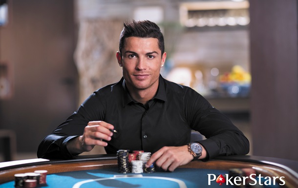 Суперзвезда мирового футбола Криштиану Роналду стал новым бренд-амбассадором Pokerstars