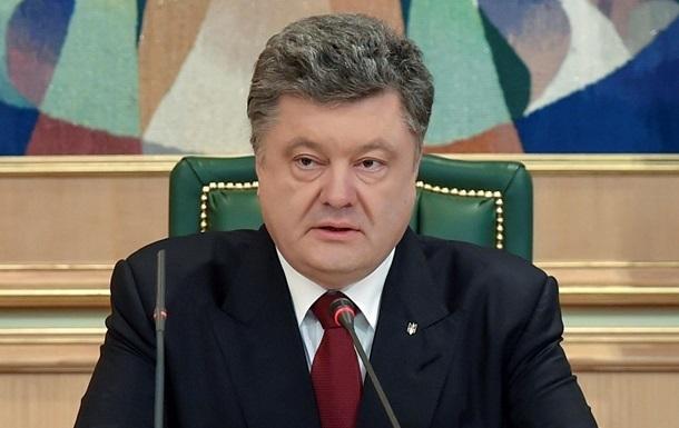 Порошенко: России не нужен Крым, ей нужна вся Украина