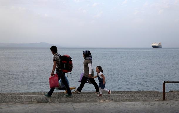 Еврокомиссия планирует переселить беженцев из Италии и Греции