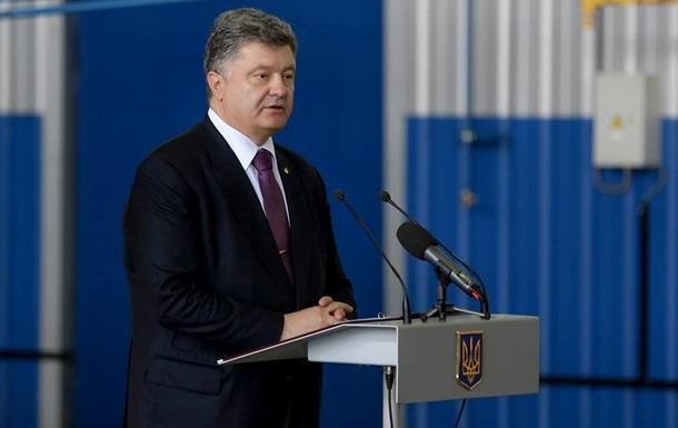 Порошенко назвал глав ДНР и ЛНР  бомжами, безбожниками и тунеядцами