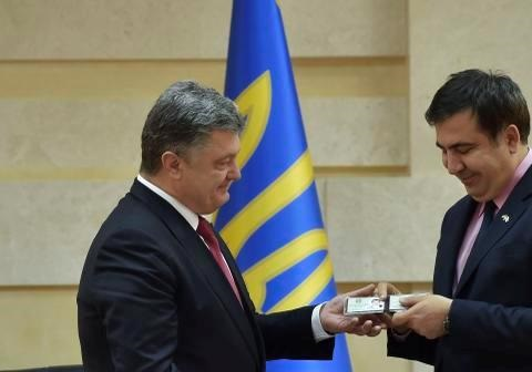 Одесса: трамплин для Саакашвили?