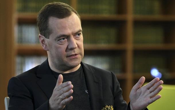 Нещасна Україна . Медведев прокомментировал назначение Саакашвили