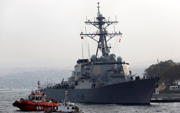 ВМС США: Отход эсминца от российских границ в Черном море был запланирован