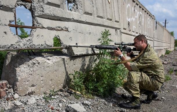 Четверо украинских военных ранены под Широкино