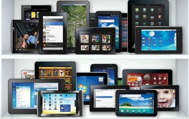 Украинский рынок планшетов и смартфонов существенно просел