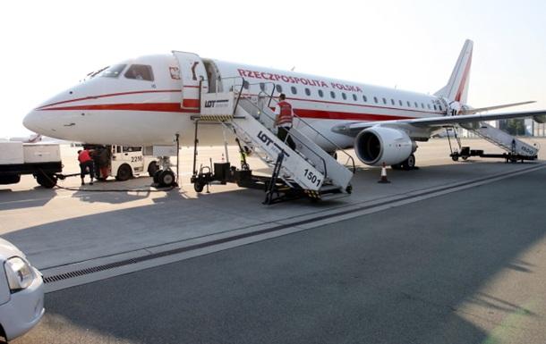 Самолет с делегацией польского Сейма вышел из строя во время взлета