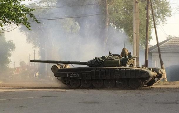 ОБСЕ: В районе Донецка замечены люди с нашивками ВС России