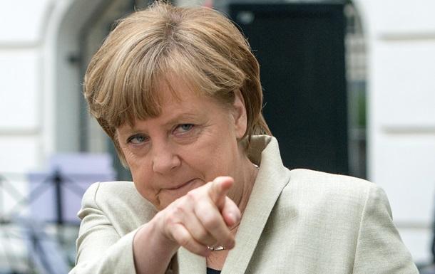 Берлин: Меркель не ошиблась, назвав аннексию Крыма  аннексией